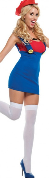 Leg Avenue Dresses & Skirts - Hallowewn Costume Mario Girl